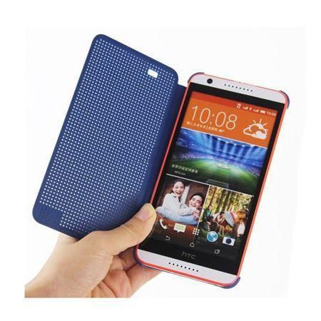 HTC One M8 etui Flip Dot View czerwony