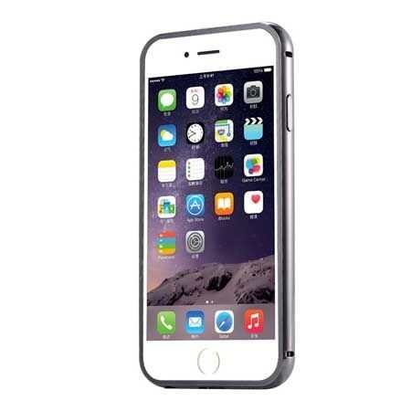 iPhone 5 5s etui aluminium bumper case grafitowy