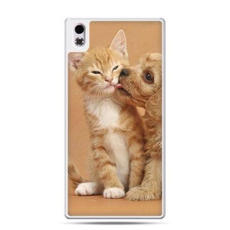 HTC Desire 816 etui jak pies i kot