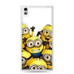 HTC Desire 816 etui Minionki
