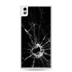 HTC Desire 816 etui rozbita szyba