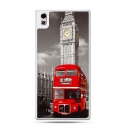 HTC Desire 816 etui czerwony autobus londyn