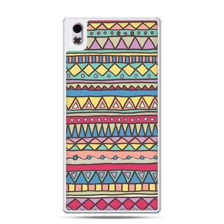 HTC Desire 816 etui Azteckie wzory