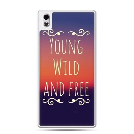 HTC Desire 816 etui Young wild and free