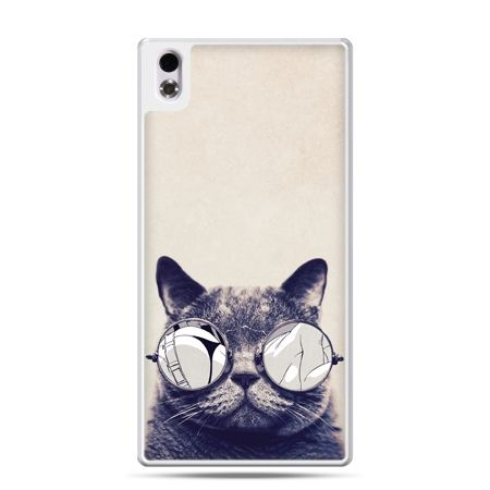 HTC Desire 816 etui kot w okularach