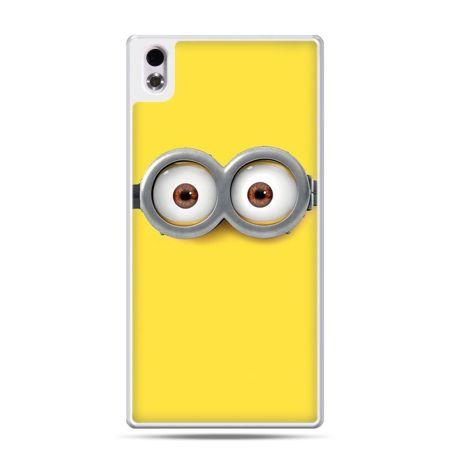 HTC Desire 816 etui oczy Minionka, Minionki