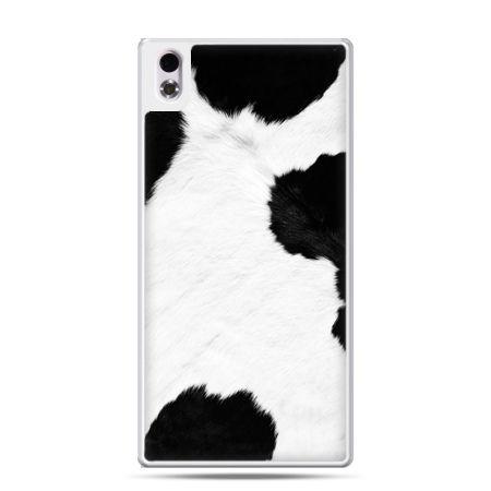 HTC Desire 816 etui łaciata krowa