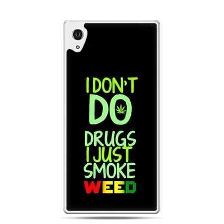Etui Xperia Z4 I don't do drugs