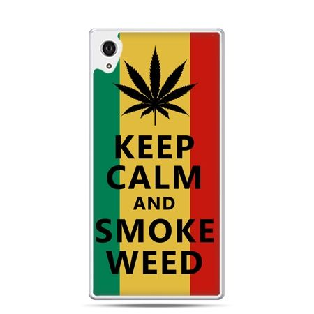 Etui Xperia Z4 Keep Calm and Smoke Weed