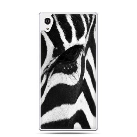 Etui Xperia Z4 zebra