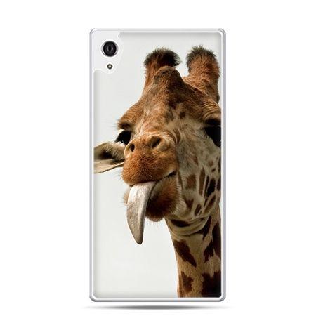 Etui Xperia Z4 żyrafa z językiem
