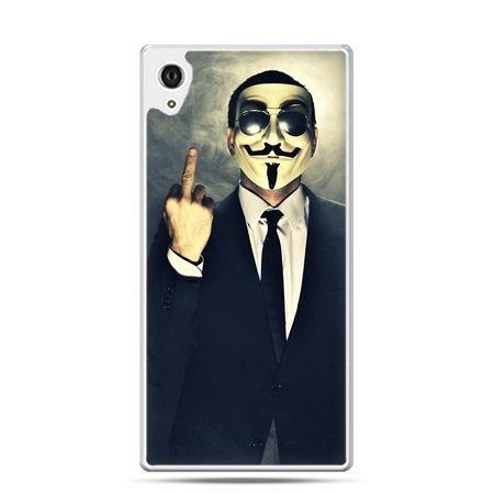 Etui Xperia Z4 Anonimus Fuck You