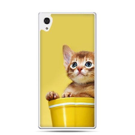 Etui Xperia Z4 kot w doniczce