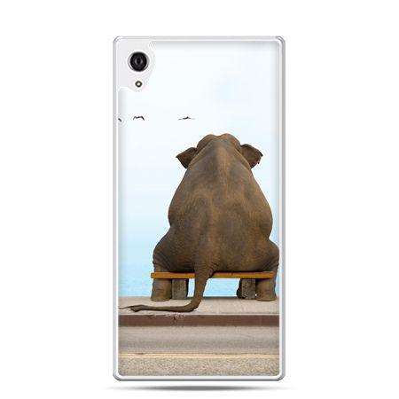 Etui Xperia Z4 zamyślony słoń
