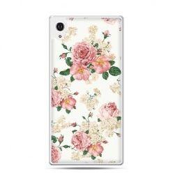 Etui Xperia Z4 polne kwiaty