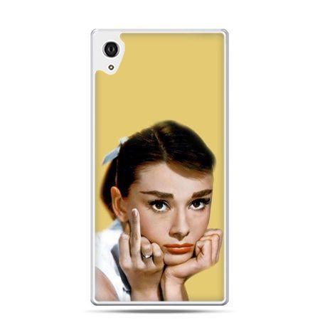 Etui Xperia Z4 Audrey Hepburn Fuck You