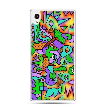 Etui Xperia Z4 kolorowa abstrakcja
