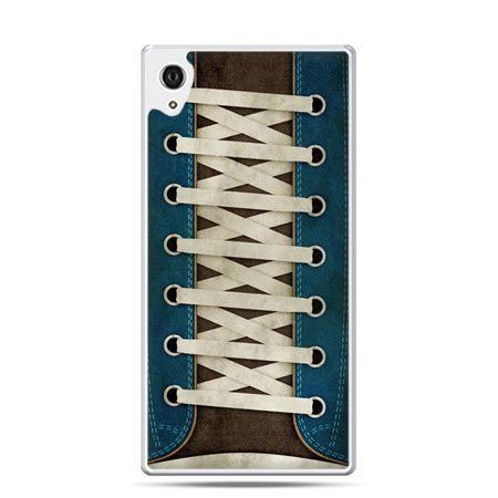 Etui Xperia Z4 trampki ze sznurówkami