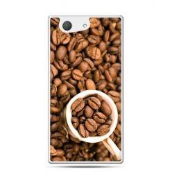 Xperia Z4 compact etui kubek z kawą