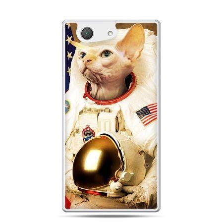 Xperia Z4 compact etui kot astronauta