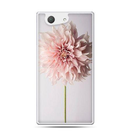 Xperia Z4 compact etui kwiat dali różowy