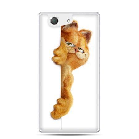 Xperia Z4 compact etui Kot Garfield