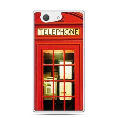 Xperia Z4 compact etui czerwona budka telefoniczna