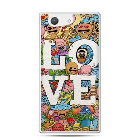 Xperia Z4 compact etui LOVE