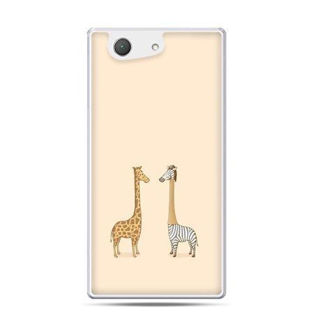 Xperia Z4 compact etui żyrafy