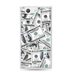 Xperia Z4 compact etui dolary banknoty