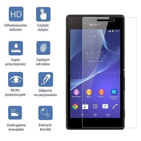 Huawei P8 Lite, hartowane szkło ochronne na ekran 9h