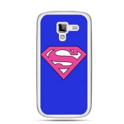 Galaxy Ace 2 etui Supergirl