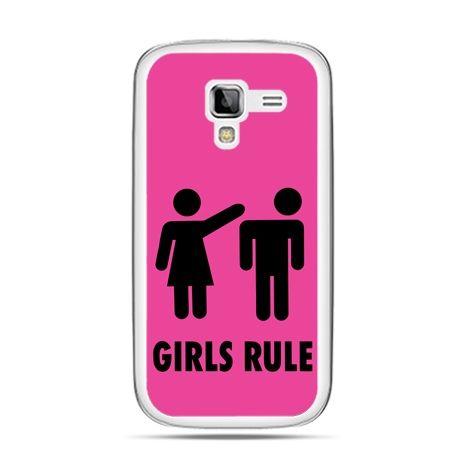 Galaxy Ace 2 etui różowe Girls Rule