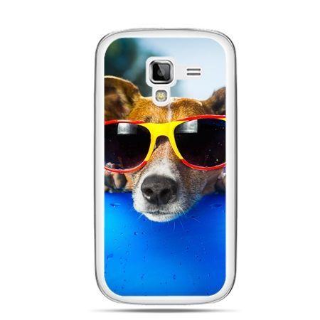 Galaxy Ace 2 etui pies w kolorowych okularach