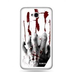 Etui na LG L70 zakrwawiona ręka