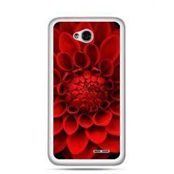 Etui na LG L70 czerwona dalia