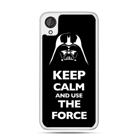 Etui dla Desire 820 Keep calm and use the force