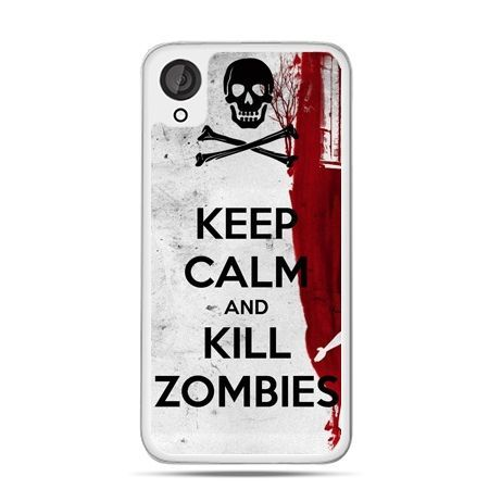 Etui dla Desire 820 Keep Calm and Kill Zombies