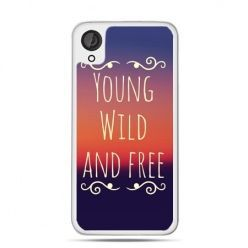 Etui dla Desire 820 Young wild and free
