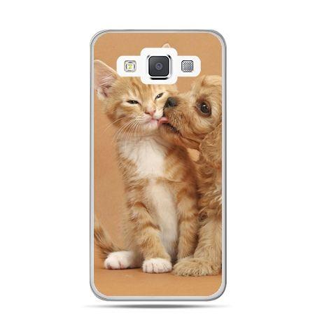 Galaxy J1 etui jak pies i kot