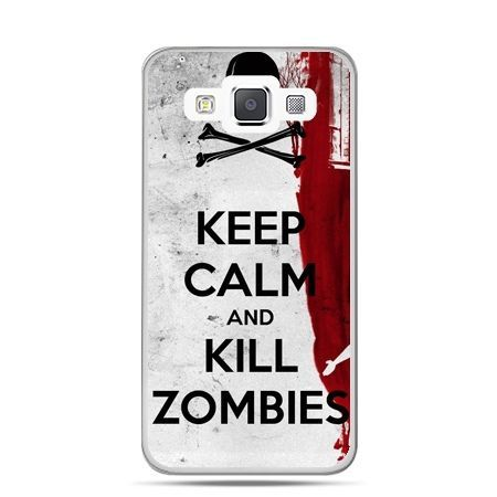 Galaxy J1 etui Keep Calm and Kill Zombies