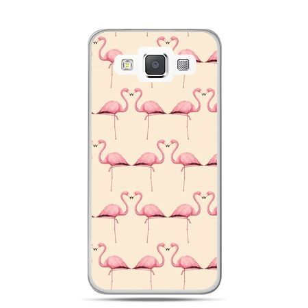 Galaxy J1 etui flamingi