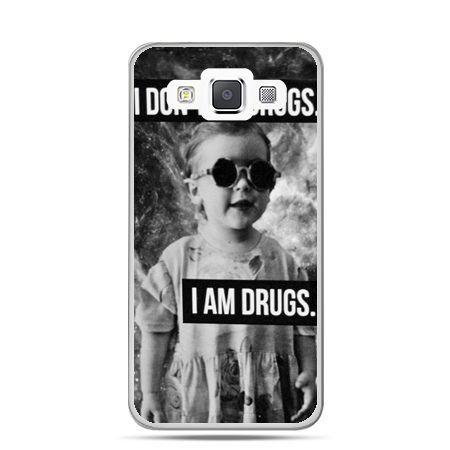 Galaxy J1 etui I don`t do drugs I am drugs