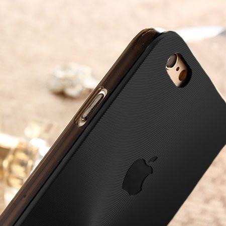 iPhone 5, 5s czarne plecki aluminiowe efekt cd