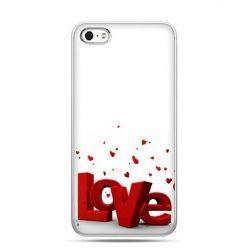 Walentynkowe etui napis LOVE 3D