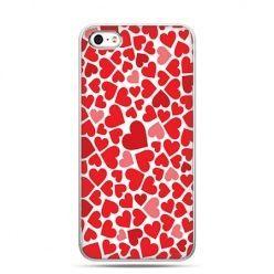 Walentynkowe etui czerwone serca.