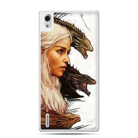 Huawei P7 etui Gra o Tron Daenerys Targaryen