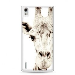 Huawei P7 etui żyrafa