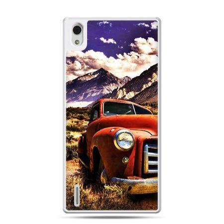 Huawei P7 etui retro pick-up