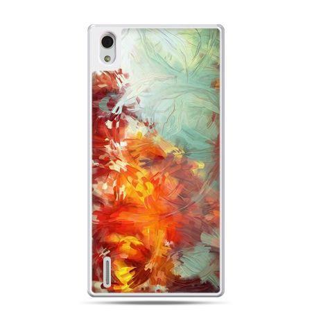 Huawei P7 etui kolorowy obraz